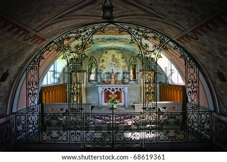 Italian Chapel, Orkney in Scotland