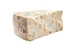 Italian cheese on white background