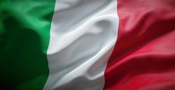 Italian flag. Italy.
