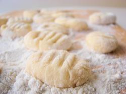 Italian home made gnocchi