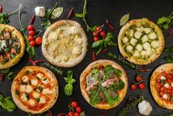 Italian home-made pizza