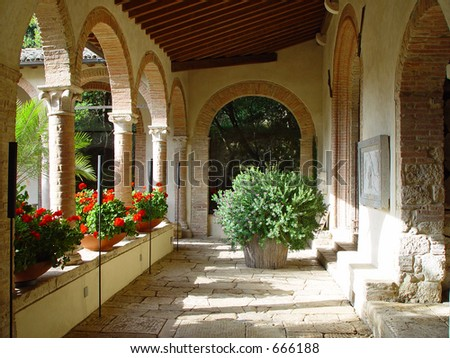 Italian Monastery, now a luxury hotel