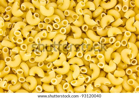 Italian pasta close up. Food background texture.