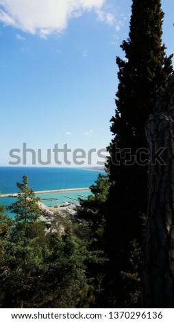 Italian promontory view  #1370296136