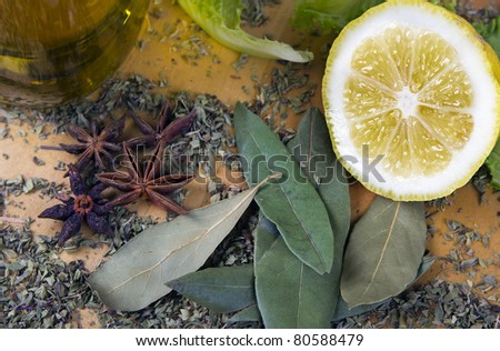 Italian seasonings and spices