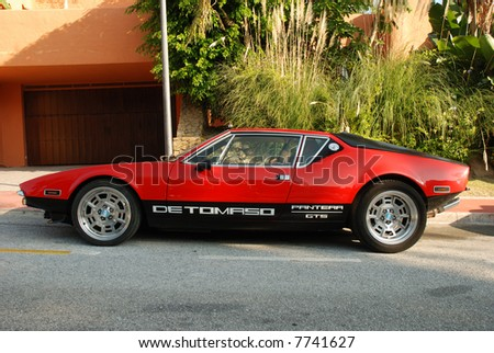 Italian sports car from the 1970s