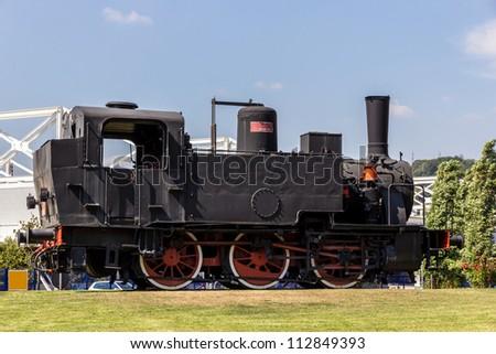 Italian steam locomotive of 1911