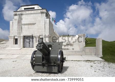 Italian WWI memorial