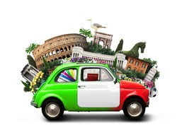 Italy and landmarks