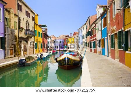 Italy - Burano, Venice #97212959