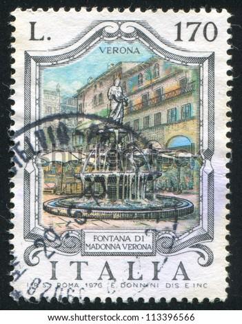 italy   circa 1976  stamp...