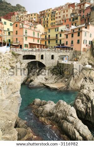 Italy Liguria region Cinque Terre Five Lands Manarola