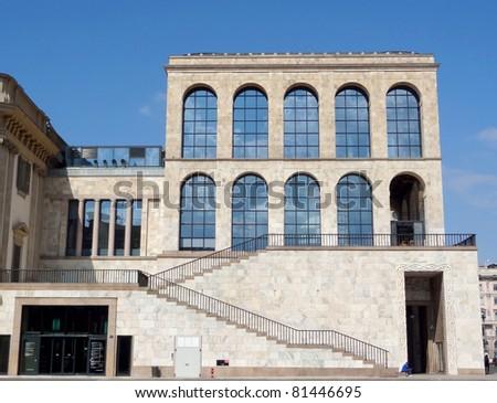 Italy - Milan - Palazzo Reale