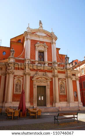 Italy, Modena Saint George church