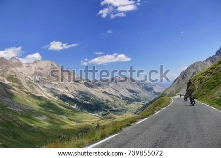 italy piedmont alps circa june...
