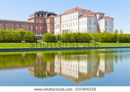 Italy - Reggia di Venaria Reale. Luxury royal palace
