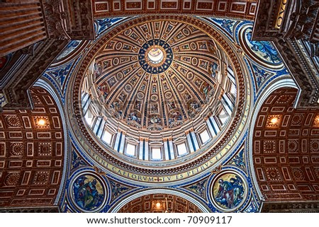 Italy Rome Vatican - stock photo
