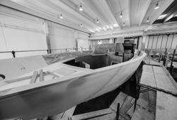 Italy, Sicily, Milazzo, ABACUS Boatyard, luxury yacht under construction