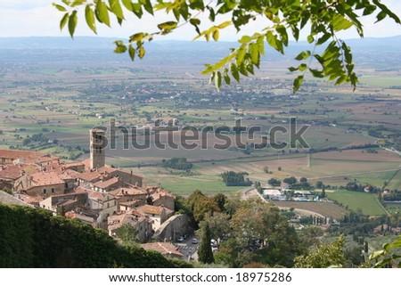 Italy. Tuscany. Cortona