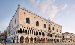 Italy, Venice. Palazzo Ducale (Doge's Palace)