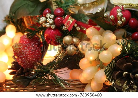 items for christmas decoration, coffee fee, kitchen items, items for funds #763950460