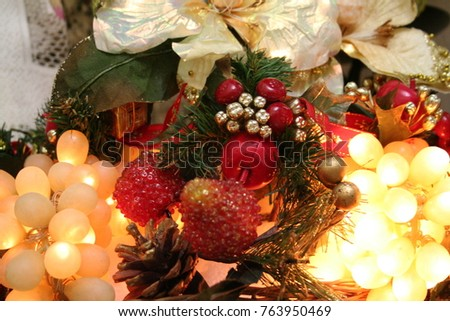 items for christmas decoration, coffee fee, kitchen items, items for funds #763950469