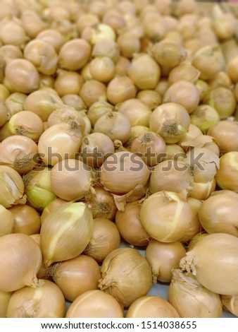its name is Bombay onion is very suitable for curry dishes, the picture is very suitable for background cooking.