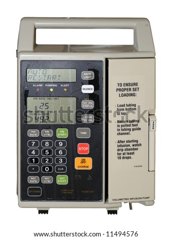 IV Flow Control / Volumetric Infusion Pump