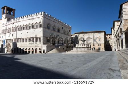 IV november Square,Perugia city