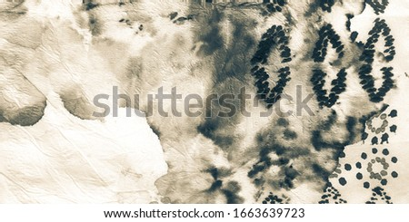 Ivory Colour Art Pattern. Stroke Paint Brush. Indigo Tie Dye Stripe. Watercolor Crystal. Sepia Dirty Art Painting. Color Painting Background.