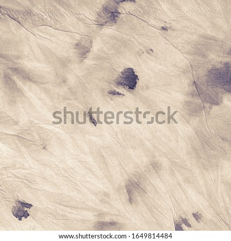 Ivory Tie Dye Wash. Sea Brush Painting. Sea Water Color Isolated. Colour Paint Background. Dirty Art Backdrop. Sea Spot.