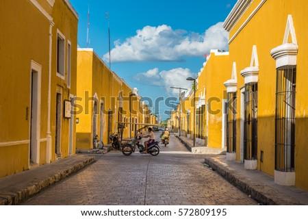 Shutterstock Izamal, the yellow colonial city of Yucatan, Mexico