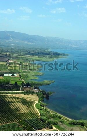 Iznik Lake, Bursa, Turkey  #587926244
