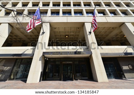 J. Edgar Hoover FBI Building on Pennsylvania Avenue, Washington DC, United States