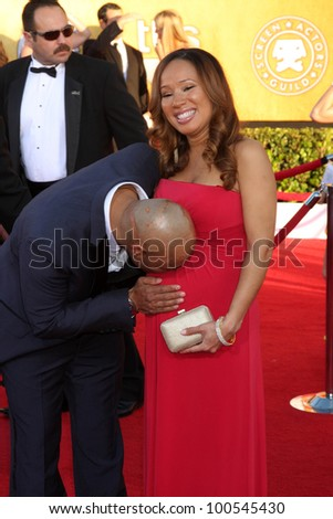 J.R. Martinez at the 18th Annual Screen Actors Guild Awards Arrivals, Shrine Auditorium, Los Angeles, CA 01-29-12