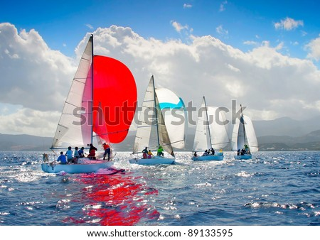 J24 Sailing Regatta in Greece