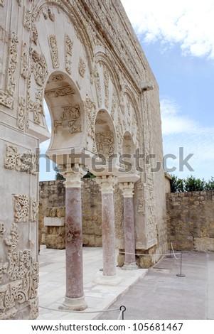 Ja'far home in the archaeological site of Madinat al-Zahra in Cordoba - Spain
