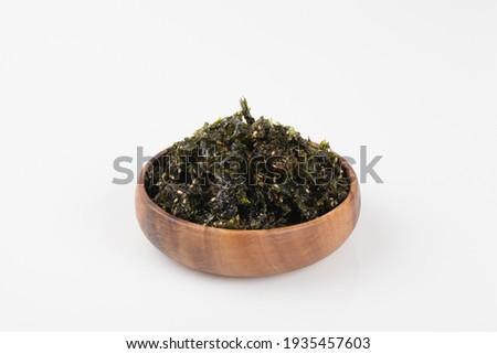 Jaban Kim, Side dish of rice Photo stock ©