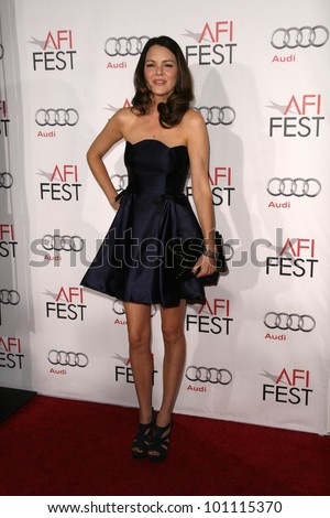 "Jacinda Barrett at the ""Love & Other Drugs"" World Premiere at AFI Fest 2010, Chinese Theater, Hollywood, CA. 11-04-10"