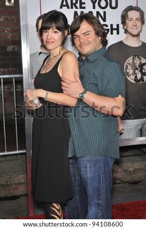Jack Black  amp wife Tanya Haden  Jack Black Wife
