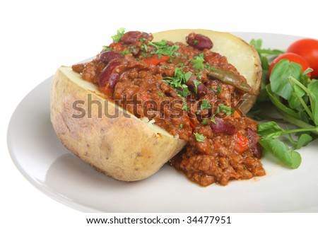 Jacket Clip Art. stock photo : Jacket potato