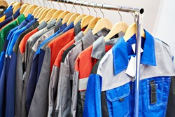 Jackets workwear for builders and industry