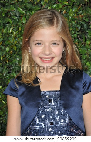 Jackie Evancho, runner-up on America's Got Talent, at the American Giving Awards at the Dorothy Chandler Pavilion in Los Angeles. December 9, 2011  Los Angeles, CA Picture: Paul Smith / Featureflash