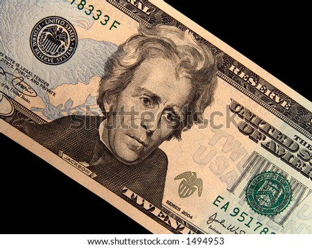 Jackson Close-up on Cash