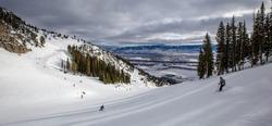 Jackson Hole Ski resort, Wyoming, USA