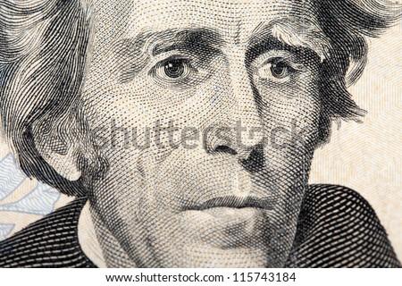 jackson on the twenty dollar bill