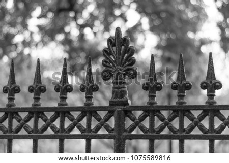 Image of a decorative sharp swords… Stock Photo 471211655