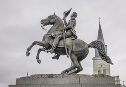 Jackson statue in New Orleans