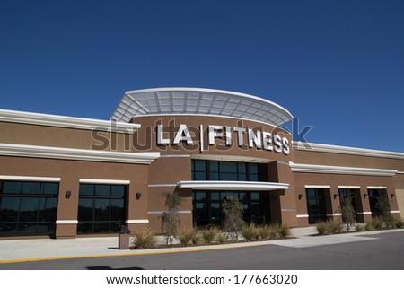 jacksonville fl february 16 2014 an la fitness health club in