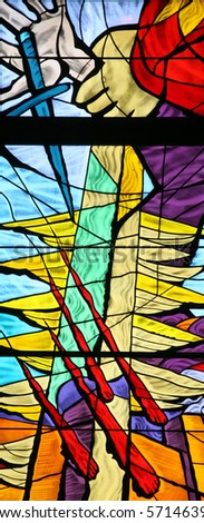 Jacob's Dream, stained glass